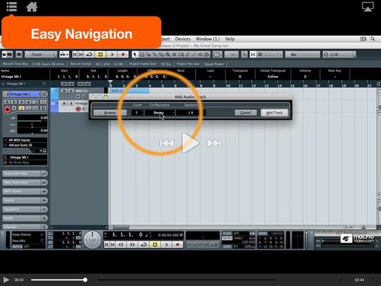 Cubase 101 iPad Screenshot 4