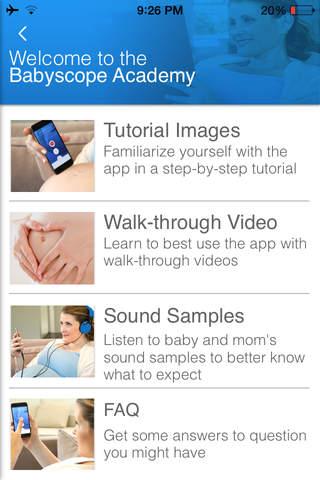 BabyScope - Prenatal Listener screenshot 2