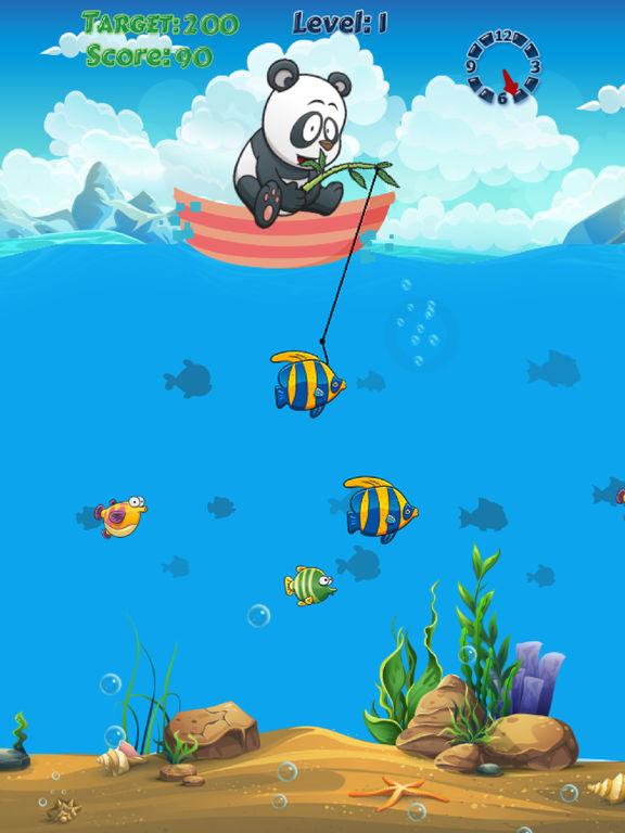 App shopper panda fishing fisherman catch big fish game for Fish catching games