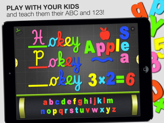 ABC - Magnetic Alphabet HD - Learn to Write! For Kids iPad Screenshot 1