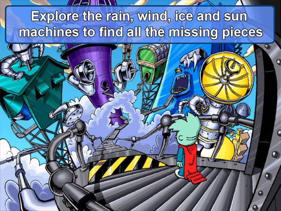 Игра Pajama Sam 2: Thunder and Lightning