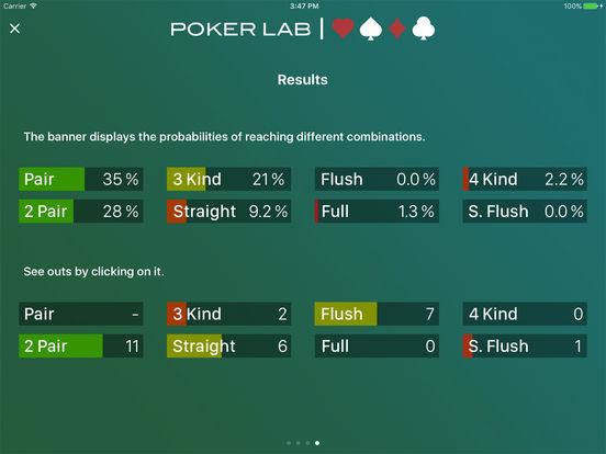 pokerLab. Premium iPad Screenshot 5
