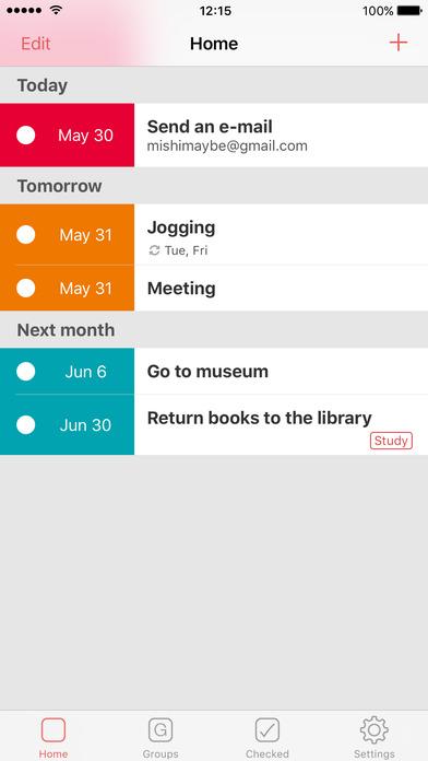 TIMETODO iPhone Screenshot 1