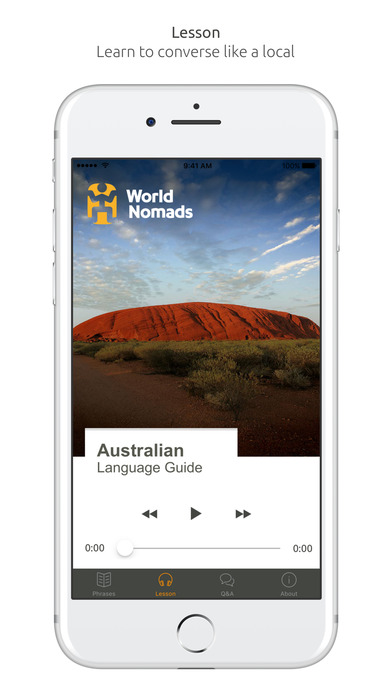 World Nomads Australian Language Guide iPhone Screenshot 3
