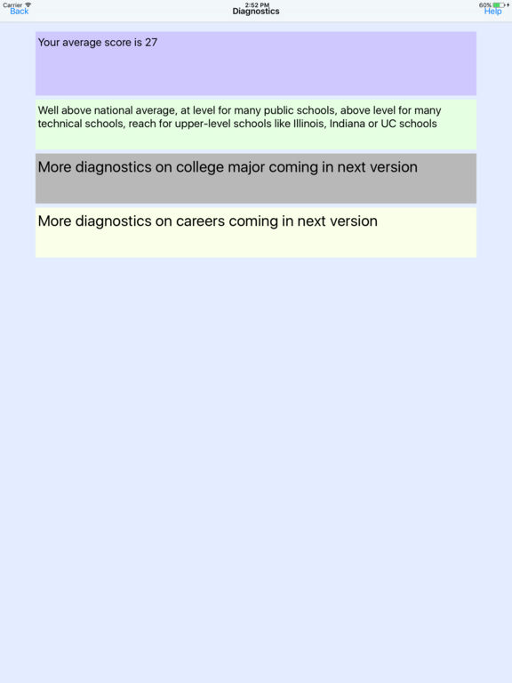 Screenshot #2 for ACTalented ACT Practice Tests