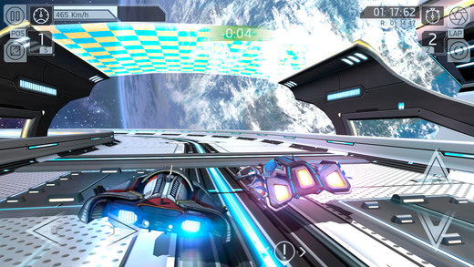 Cosmic Challenge: Best online space racing game Screenshot