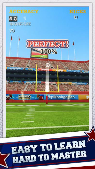 Flick Kick Field Goal Screenshots