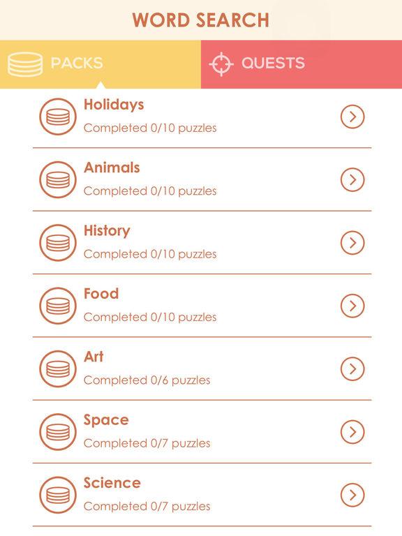 Word Search Cookies: Find Hidden Crosswords screenshot 7