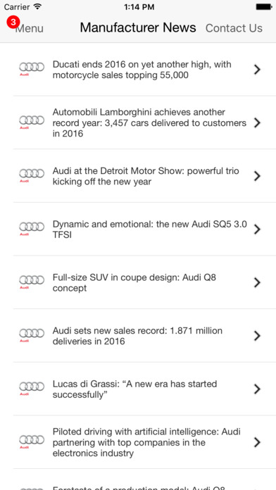 Audi Wynnewood iPhone Screenshot 5