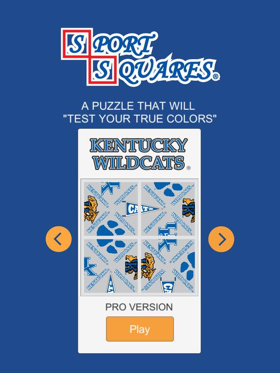 Kentucky Wildcats Sport Squares screenshot 9