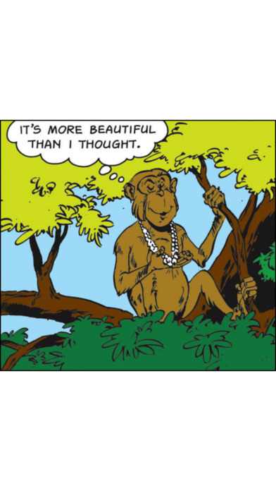 Jataka Tales - Queen's Necklace - Amar Chitra Katha Comics iPhone Screenshot 4