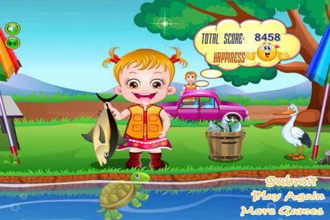 Cute Baby Fishing screenshot 4