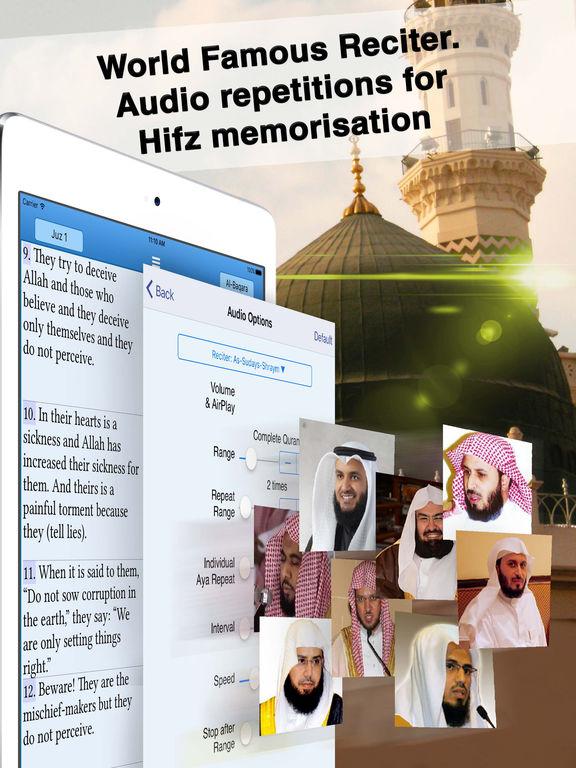 Quran Majeed - Muslim Islam Prayer Times - القرآن Screenshots