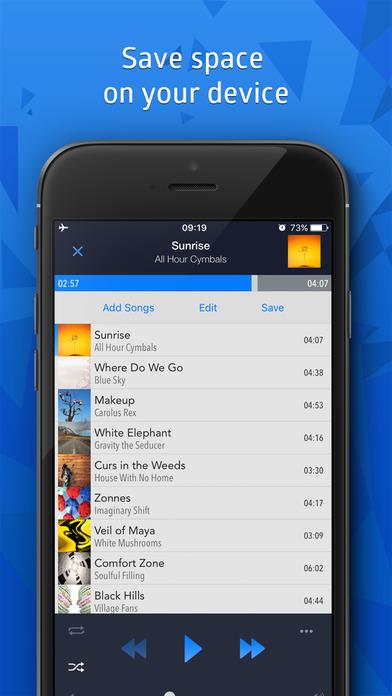 CloudBeats - Offline Music Player & Streamer Screenshot