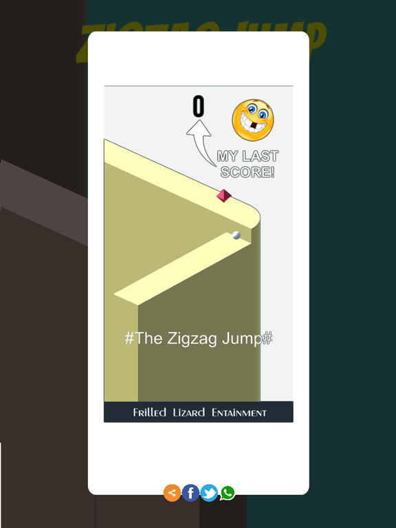 Tap for Fun: ZigZag Jump Screenshots