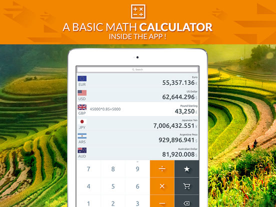 Currency Converter (Free) iPad Screenshot 2