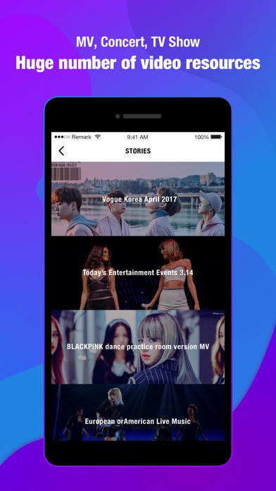 TanQu-Idol News & Concert Live Video iPhone Screenshot 2