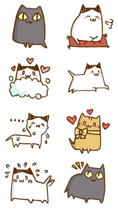 Little Cats Friends - Stickers! screenshot 2