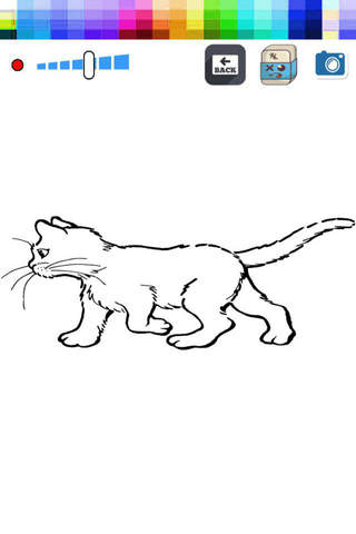 Paint and Drawing Cat - For Kids screenshot 2
