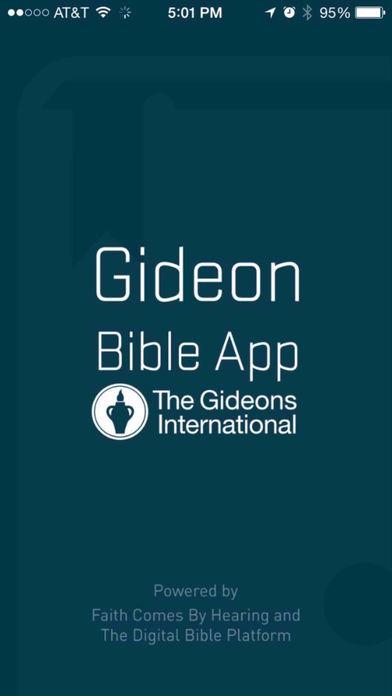 Gideon Bible App Скриншоты3