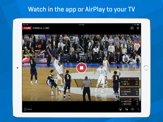 Screenshot #2 for NCAA March Madness Live - Men's College Basketball