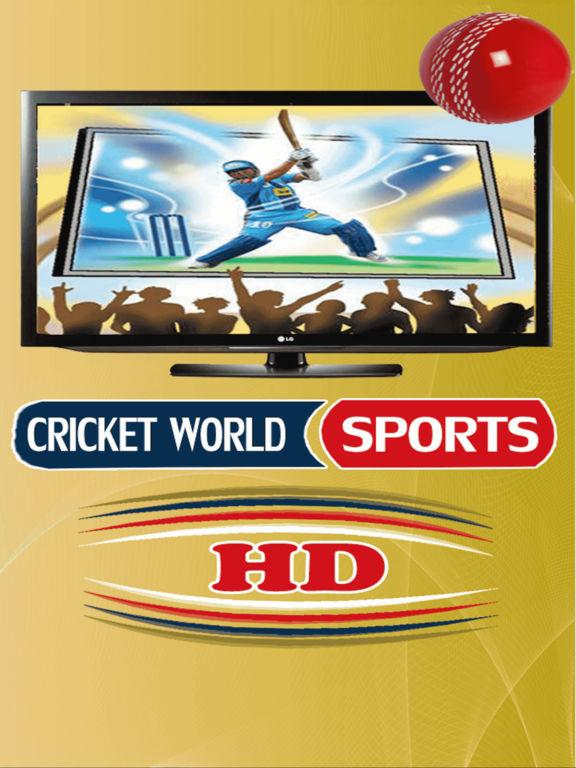 Cricket World Sports HD T20, ODI, TEST ALL Sports-ipad-0