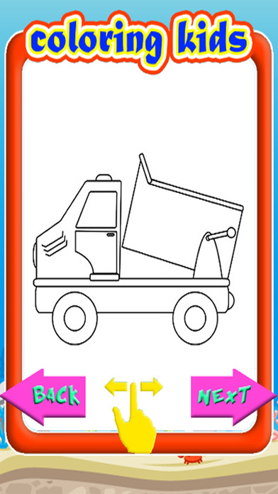 Coloring Pages App Android : Coloring book pages dump truck version app download