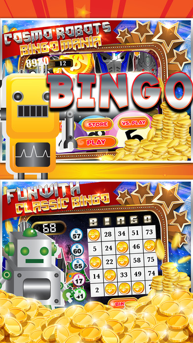 Screenshot 1 Cosmo Robot Bingo Casino Vegas