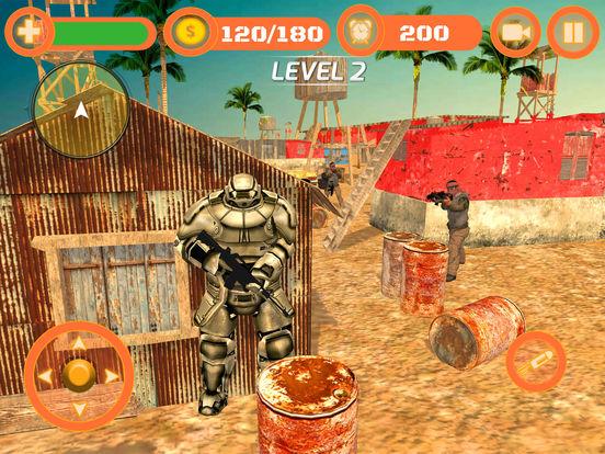 Superhero WAR: Army Counter Terrorist Attack screenshot 10