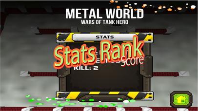 Wars of Tank Hero Metal World screenshot 4