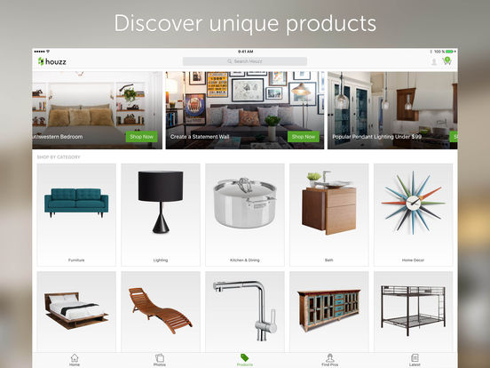 ipad screenshot 4 - Houzz Interior Design Ideas