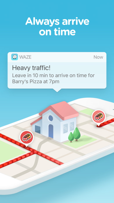 Waze Navigation & Live Traffic iPhone