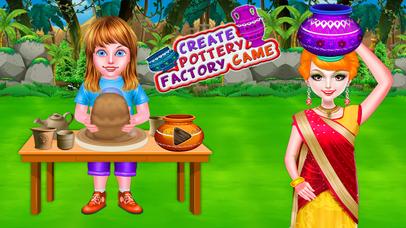 Create Pottery Factory Game screenshot 1