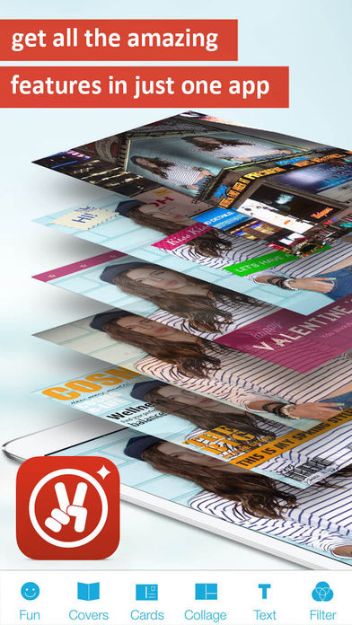Photo2Fun HD - 1-click photo montage Screenshots