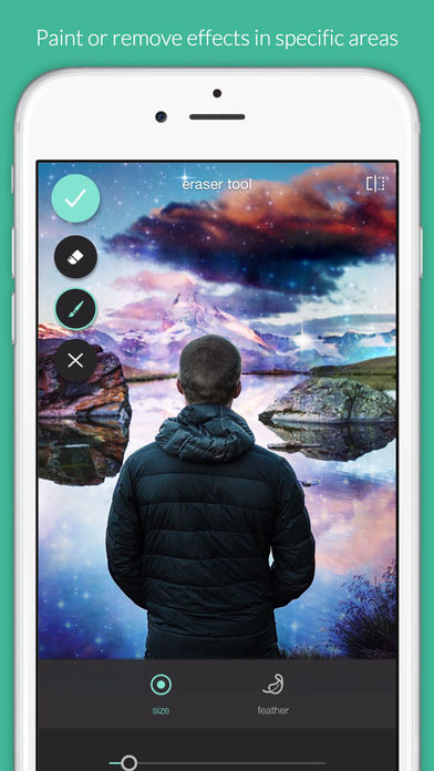 Screenshots of Pixlr – Free Photo Editor for iPhone