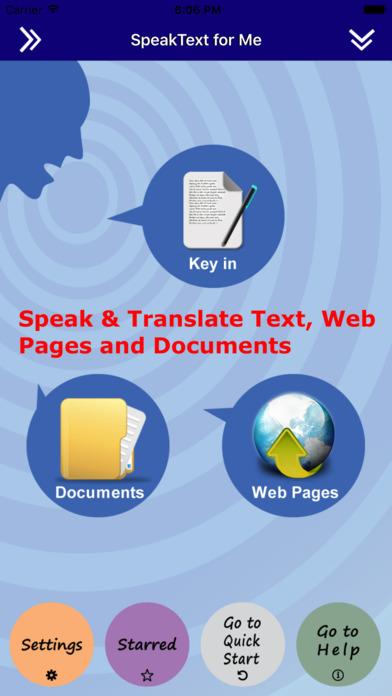 SpeakText for Office (Speak & Translate Office) Screenshots