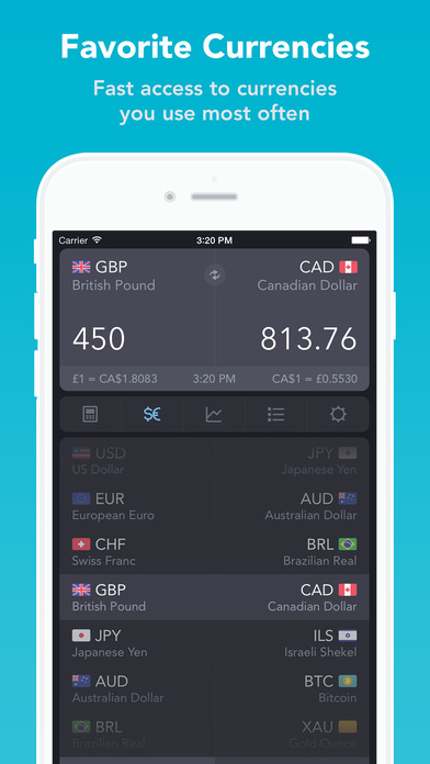 iCurrency Pad  ~  Currency Converter Screenshots