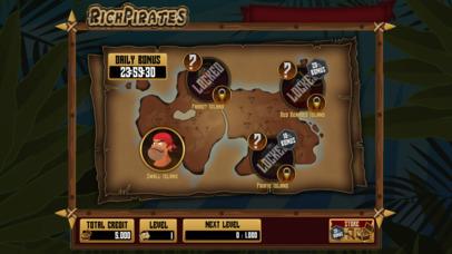 Screenshot 1 Rich Pirates — Slot Machine Game