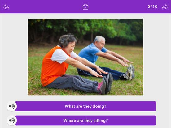 Screenshot #3 for Wh Questions by Teach Speech Apps
