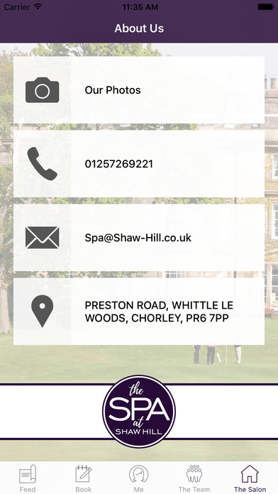 Shaw Hill Golf Spa And Hotel screenshot