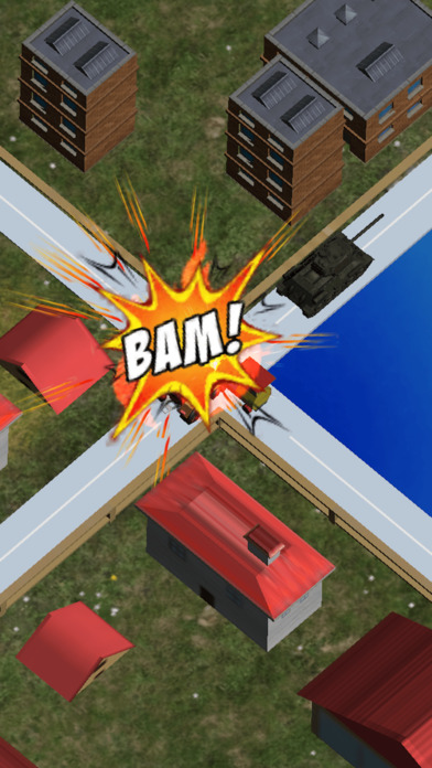 Mini Train Street Rush Pro screenshot 1