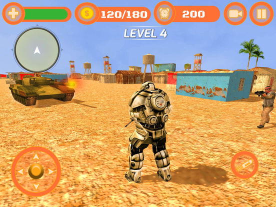 Superhero WAR: Army Counter Terrorist Attack screenshot 7