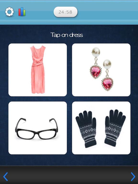 Flashcards - Clothes & Accessoriesscreeshot 3