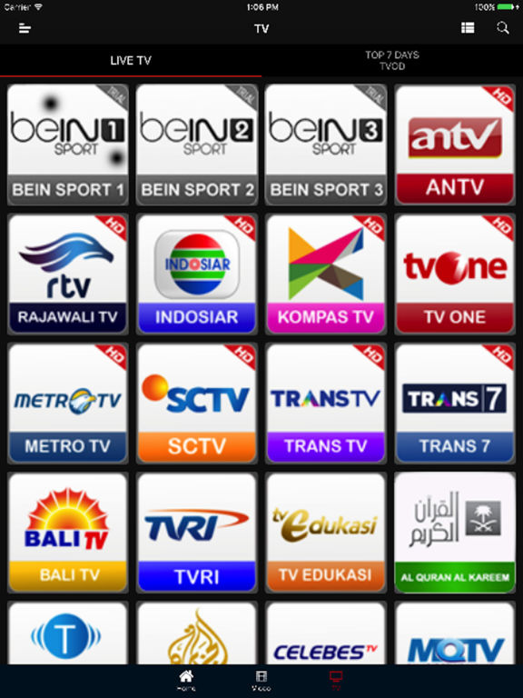 Add On Channel Indihome