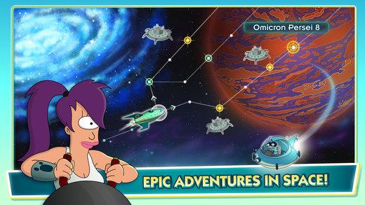 Futurama: Worlds of Tomorrow Screenshots