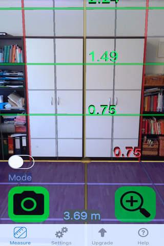 Tape Measure Camera Ruler 3D screenshot 4