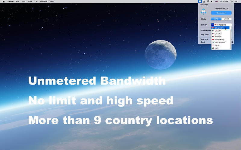 RocketVPN Screenshot - 1