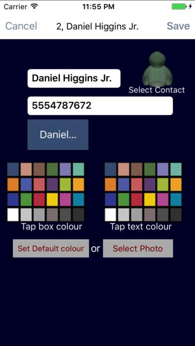 Speed Dial Screenshots