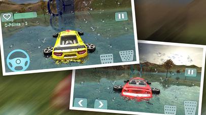 Water Car Stunt Driving Pro screenshot 2