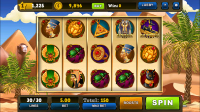 Screenshot 4 Slots — Fortunes of Luxor Egypt Jackpot Casino